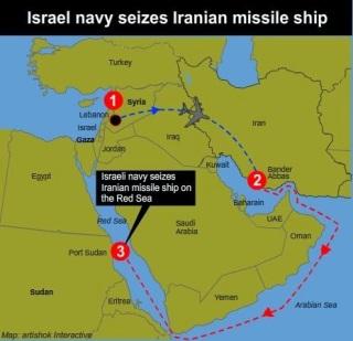 la-proxima-guerra-israel-intercepta-envio-de-armas-iranies-cohetes-a-gaza-hermanos-musulmanes-al-qaeda-mapa